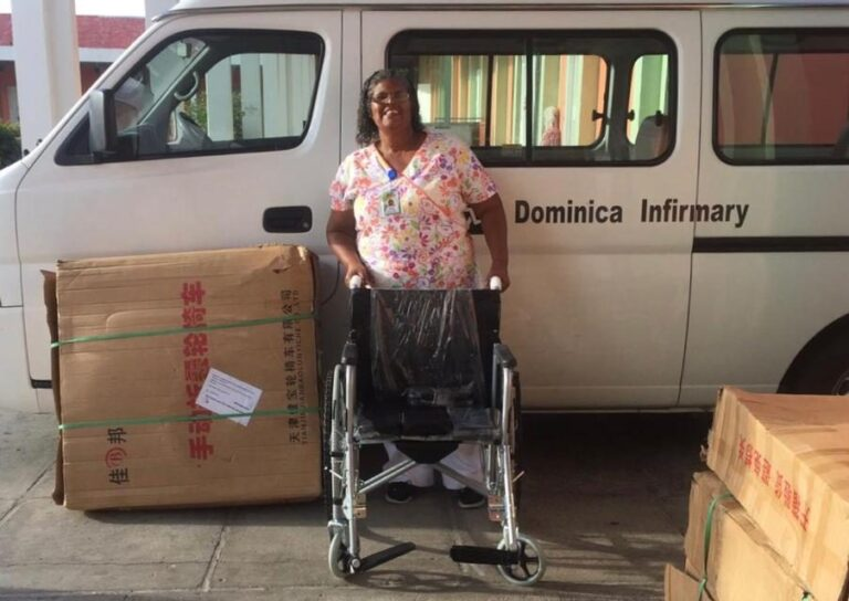 Purchasing Wheelchairs for Dominica Infirmary