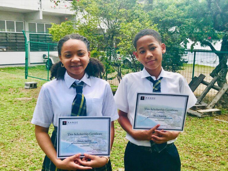 Students Earning Range Developments Scholarships