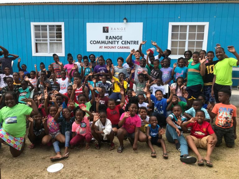 Range Developments Rebuilds St. Kitts Summer Camp