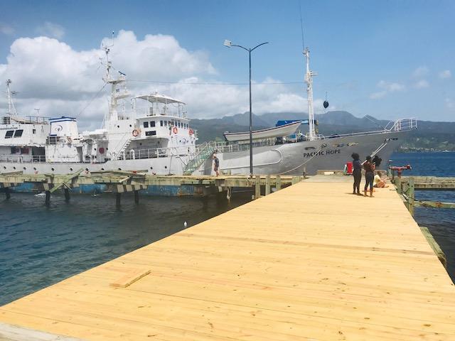 Cabrits National Part Pier Restoration