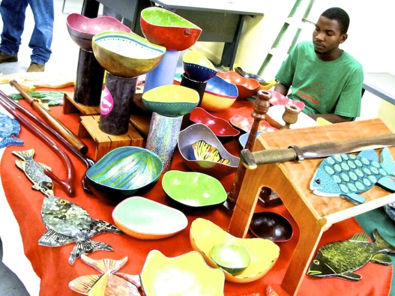 Arts and Crafts at Dominica Educational Centre