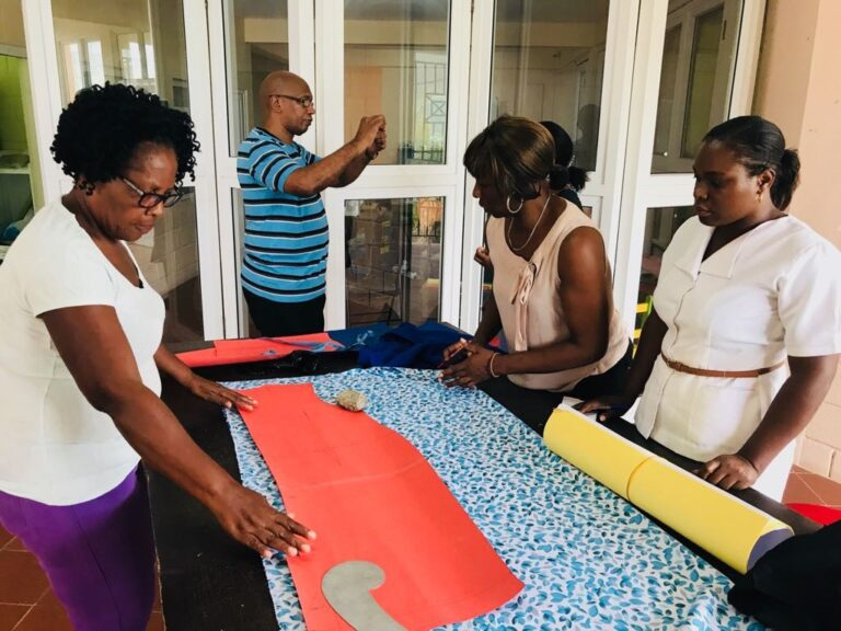 Caribbean workers at a Non-Profit