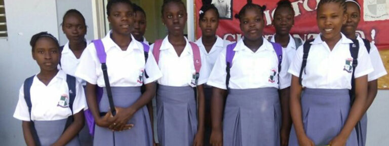 Caribbean Students Receiving Academic Scholarship