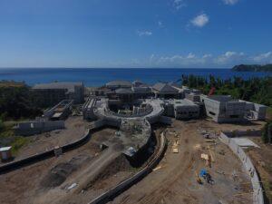 cabrits resort dominica building progress