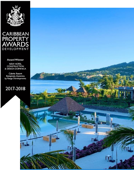 Cabrits Resort Dominica award.
