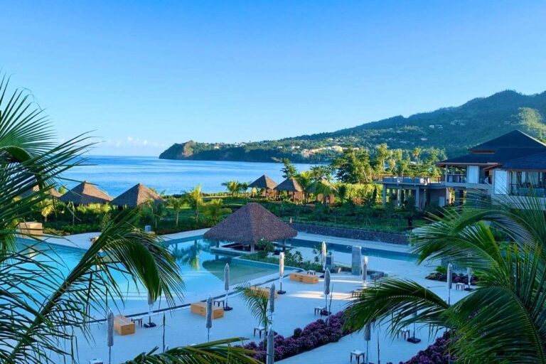 cabrits resort and spa dominica island view