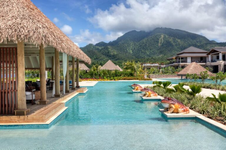cabrits resort and spa dominica pools