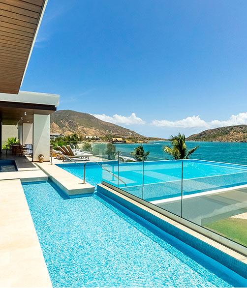 Park Hyatt St. Kitts infinity pool