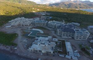 cabrits resort dominica is under construction