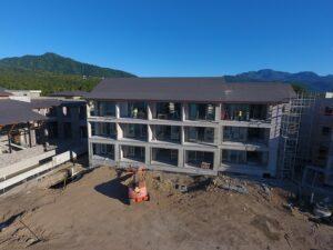 cabrits resort dominica hotel building construciton