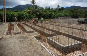 laying foundations for cabrits resort & spa dominica