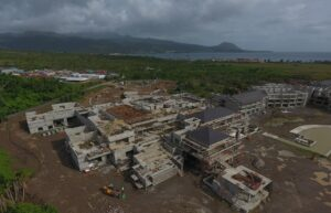 The cabrits resort & spa dominica construction