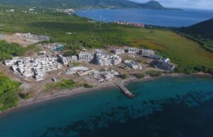 cabrits resort & spa dominica flyover construction view