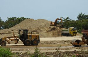excavation for caribbean resort