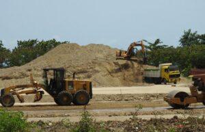 excavation for caribbean resort