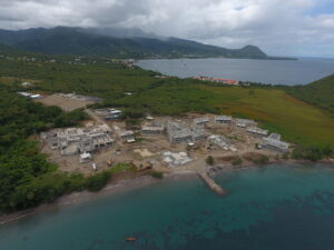 cabrits resort & spa dominica early construction