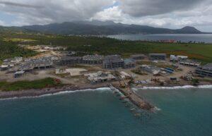 building pier at cabrits resort & spa dominica