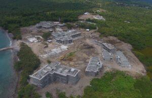 cabrits resort & spa construction