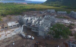 construction progress on cabrits resort & spa dominica