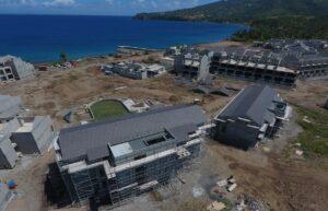 cabrits resort & spa dominica building progress