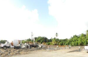 building a caribbean resort