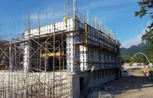 building caribbean resort