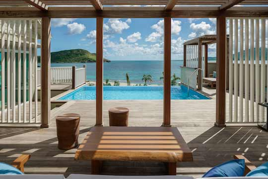 Park Hyatt St. Kitts - Executive Suite Pool.