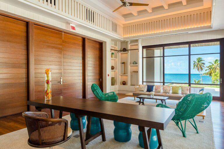 Park Hyatt St. Kitts suite dining area