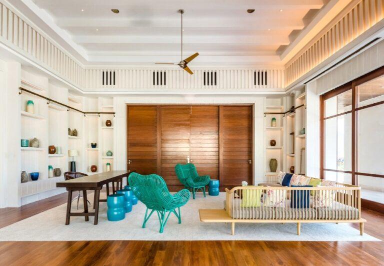 Park Hyatt St. Kitts suite living room