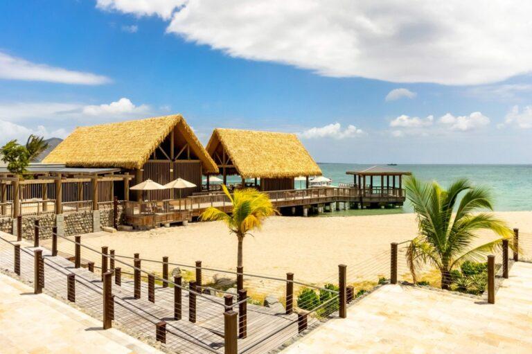 Park Hyatt St. Kitts beach cabanas