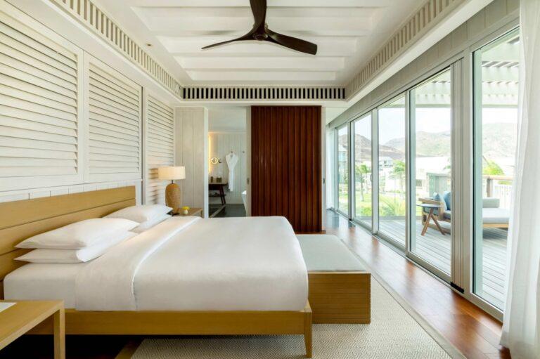 Park Hyatt St. Kitts suite bedroom