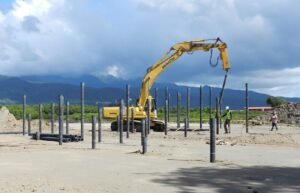 building caribbean resort foundation