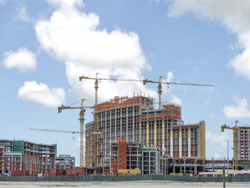 Industrial Building under construction