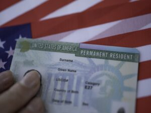 USA Permanent Resident card.