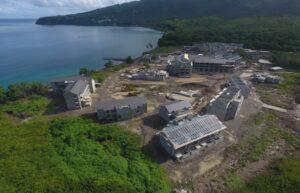 cabrits resort & spa building progress