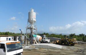 caribbean resort construction site