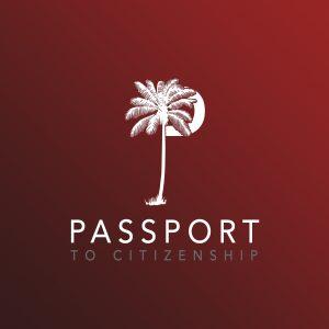 Passport to Citizenship Podcast Logo