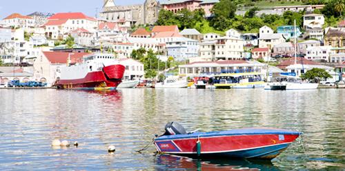 boat in grenda harbor