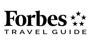 Forbes Travel Guide logo.